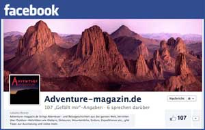 ADVENTURE-magazin.de auf Facebook